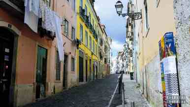 Uliczki w Lizbonie