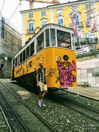 Elevator de Glória, Lizbona