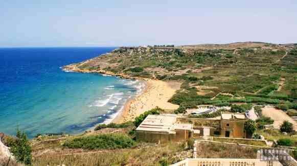 Plaża na Gozo - Malta