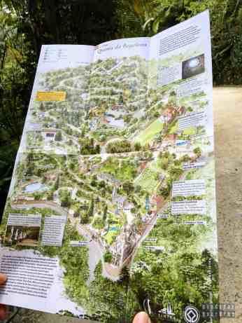 Mapa Rezydencji - Quinta da Regaleira, Sintra