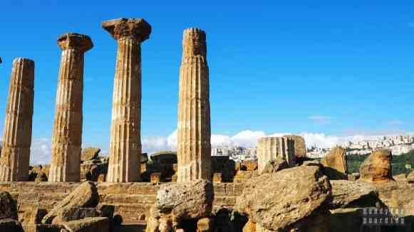 Świątynia Herkulesa, Agrigento - Sycylia