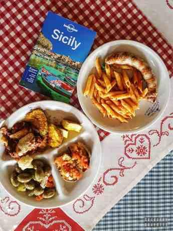 Sycylijski posiłek, Etna
