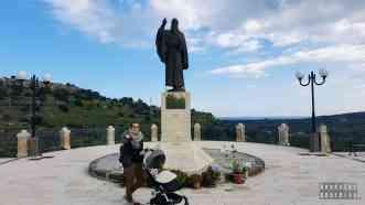 Punkt widokowy w Noto - Sycylia