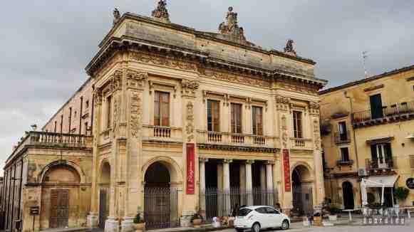 Teatr w Noto - Sycylia