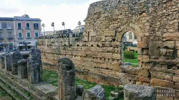 Świątynia Apolla, Syrakuzy - Sycylia