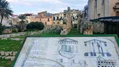 Tempio di Apollo, Syrakuzy - Sycylia