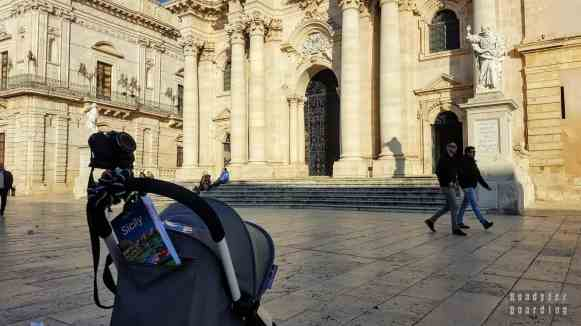 Plac Katedralny, Syrakuzy - Sycylia