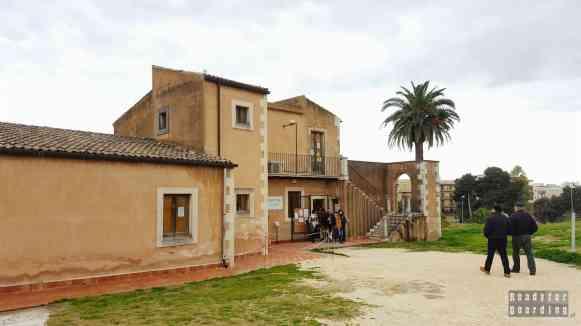 Kasa do Parku Archeologicznego w Syrakuzy - Sycylia