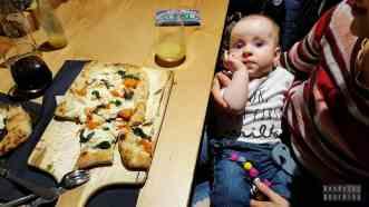 Włoska pizza w Syrakuzy - Sycylia