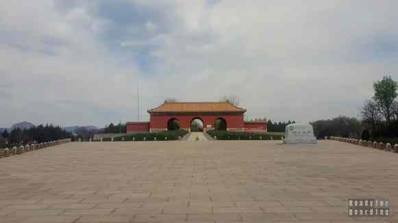 Brama do grobowców, Pekin