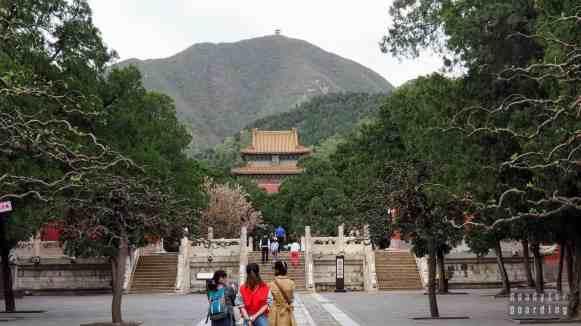 Wejście do grobowca Dingling, Pekin