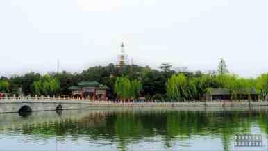 Biała Dagoba, Beihai Park, Pekin