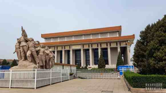 Mauzoleum, Plac Niebiańskiego Spokoju, Pekin