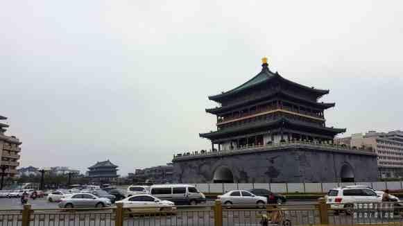 Wieża Bębna i Wieża Dzwonu w Xi'an - Chiny