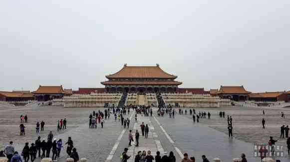 Pawilon Najwyższej Hamonii, Zakazane Miasto, Pekin