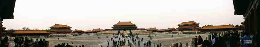 Panorama, Zakazane Miasto, Pekin