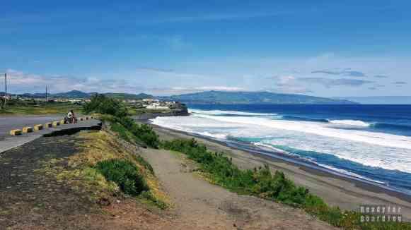 Plaża w Ribeira Grande, Azory