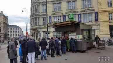 Kiełbaski w Wiedniu - Austria
