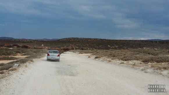 Droga do plaży Lara - Cypr