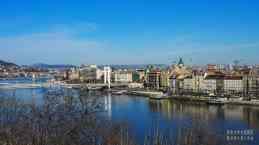 Widok na Budapeszt - Węgry