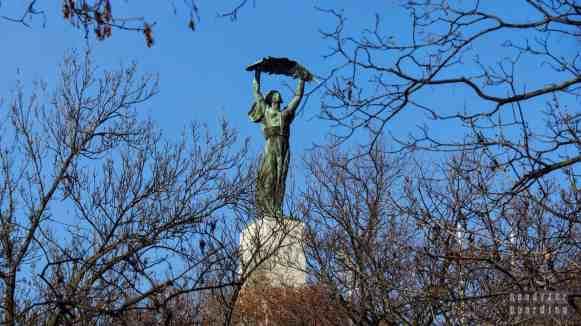 Statua Wolności na Górze Gellerta, Budapeszt - Węgry