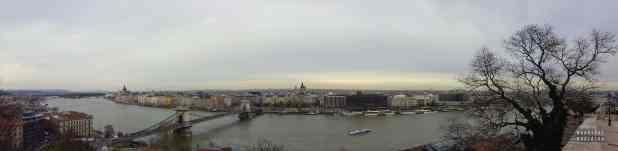 Panorama miasta, Budapeszt - Węgry