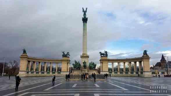 Plac Bohaterów, Budapeszt - Węgry