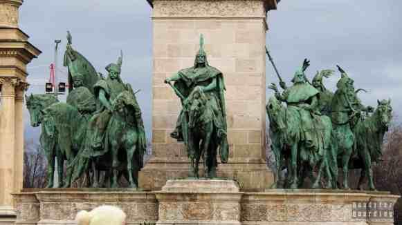 Plac Bohaterów w Budapeszcie - Węgry