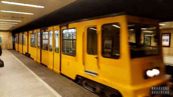 Zabytkowe metro w Budapeszcie - Węgry