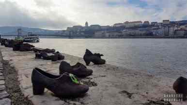 Pomnik Buty nad brzegiem Dunaju, Budapeszt - Węgry