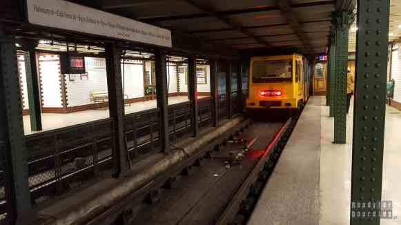 Stacja metra, Budapeszt - Węgry