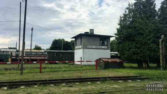 Stacja Rogów Towarowy - Kolej wąskotorowa