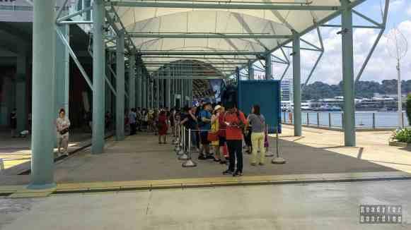 Kasy do S.E.A. Aquarium - Sentosa, Singapur