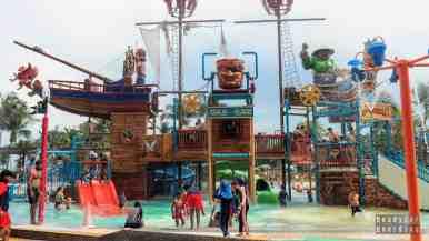 Wodny plac zabaw dla dzieci, Sentosa - Singapur