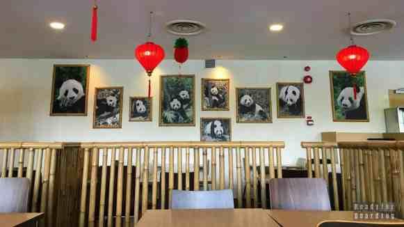 Pandowa restauracja w River Safari, Zoo Singapur