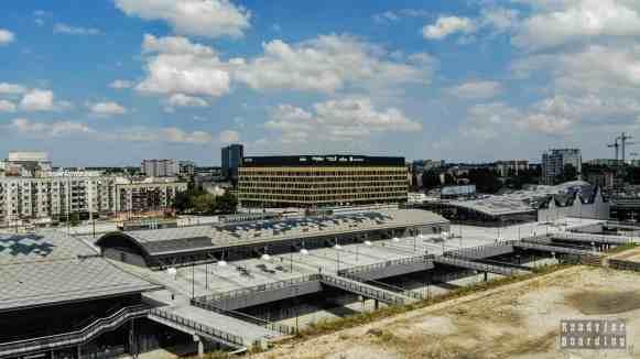 Widok na Łódź z EC1