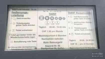 Kempingi w Szwajcarii - Sankt Gallen