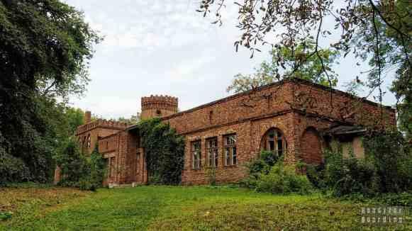 Zamek w Sobocie, województwo łódzkie