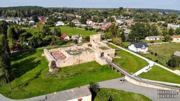 Zamek królewski w Inowłodzu, województwo łódzkie