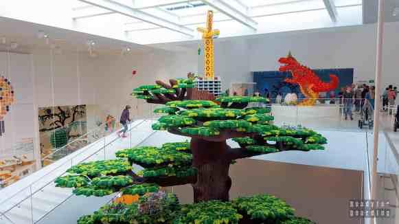 Drzewo Kreatywności w Lego House - Billund, Dania
