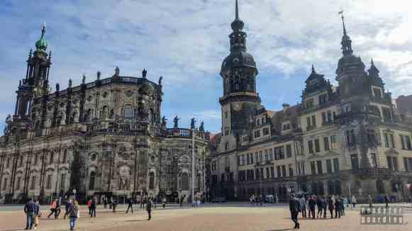 Katedra Św. Trójcy i Zamek w Dreźnie