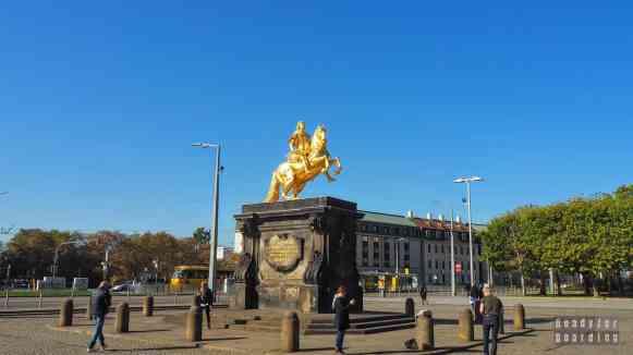 Statua Augusta II Mocnego, Drezno - Niemcy