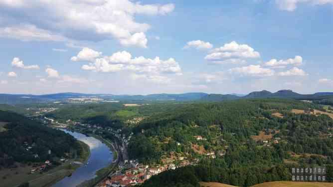 Dolina Łaby, Saksońska Szwajcaria - Niemcy