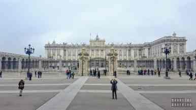 Pałac Królewski, Madryt - Hiszpania
