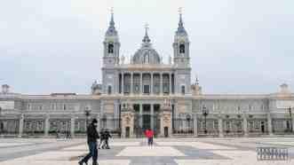 Katedra Almudena , Madryt - Hiszpania