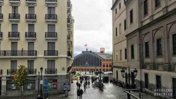 Dworzec Madryt Atocha - Hiszpania