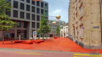 Roter Platz, St Gallen - Szwajcaria