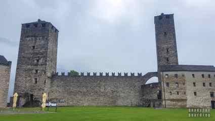 Zamek Castelgrande, Bellinzona - Szwajcaria