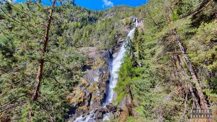Wodospad Barbiano - Tyrol Południowy - Włochy