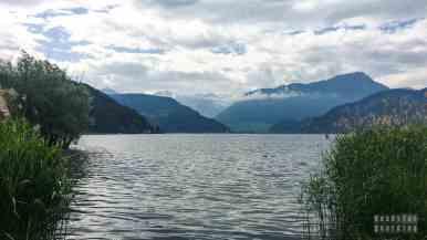 Okolice kempingu w Horw - Szwajcaria